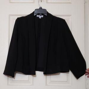 Women's jacket XL black blazer jacket long Sleeves